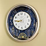 Seiko Amazing Melodies in Motion Wall Clock - 16.6 in. Wide