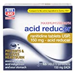 Rite Aid Acid Reducer, Maximum Strength, Tablets, 65 ea