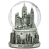 New York City Silver Lined Snow Globe 65mm
