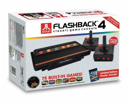 At Games Atari Flashback 4 Classic Game Console