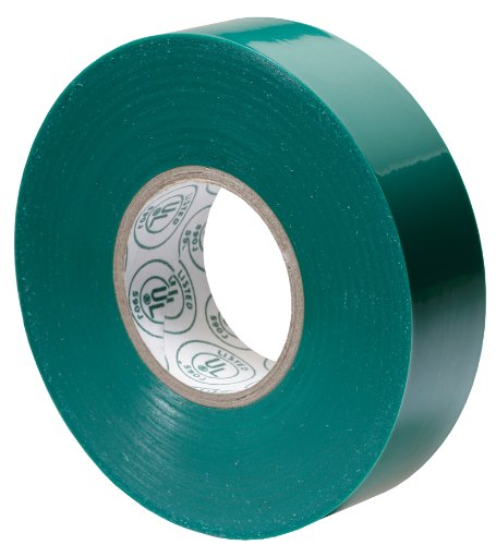Gardner Bender GTG-667P 3/4-Inch by 66-Foot Green Electrical Tape