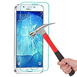 Kapa Anti Burst Tempered Glass Screen Guard Protector For Samsung Galaxy A8