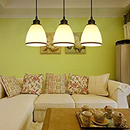 Winson Stylish design Elegant Vintage Style Pendant ceiling Light Shade Stylish Pendant LightsLed Lamps , Direct Disk 3 and chandelier