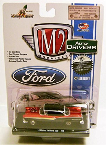 M2 Machines Auto-Drivers 1957 Ford Fairlane 500 R29 14-13