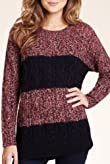 Round Neck Chunky Cable Knit Jumper with Mohair [T38-4031-S]