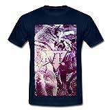 Wölfe Männer T-Shirt von Spreadshirt, 4XL, Navy