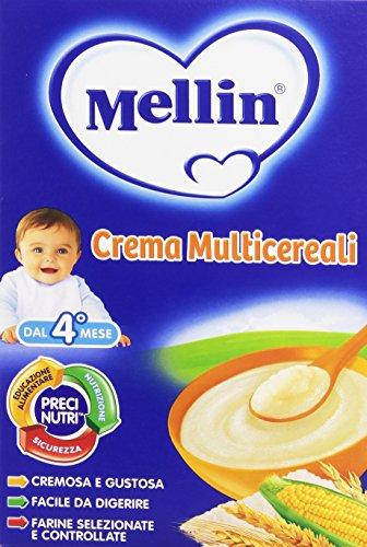 Mellin - Crema Multicereali, indicato per infanti dal 4 mese  - 250 g