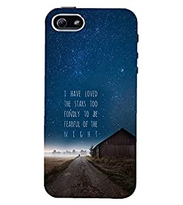 PRINTSWAG QUOTE Designer Back Cover Case for APPLE IPHONE 5S