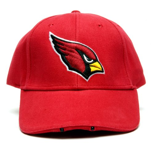 Nfl Arizona Cardinals Dual Led Headlight Adjustable Hat