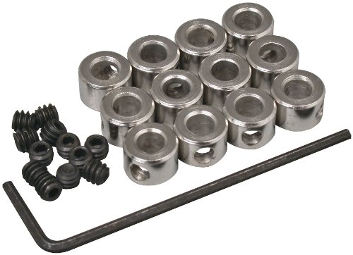 "Great Planes 5/32"" Plated Wheel Collar (12-Piece)"