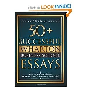 wharton business school essays
