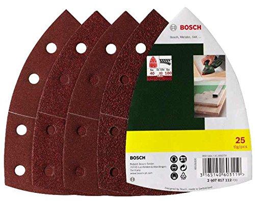 Bosch-DIY-25tlg-Schleifblatt-Set-verschiedene-Materialien-fr-Multischleifer-Krnung-4080120180-11-Lcher