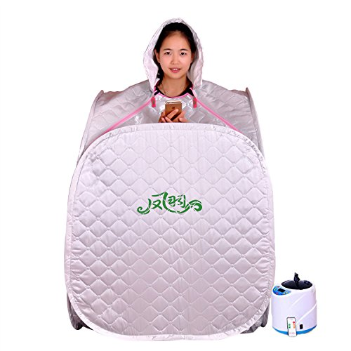 HOIU IOL 900W Portable Steam Sauna Zelt SPA Detox Weight Loss/220V , 1#