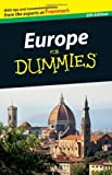 Europe For Dummies by Olson, Donald, Albertson, Liz, Pientka, Cheryl A., McDonald, (2011) Paperback