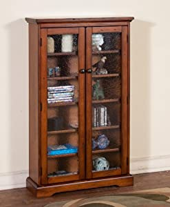 Timber Creek CD/ DVD Cabinet