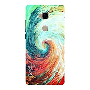 Premium Quality Mousetrap Printed Designer Full Protection Back Cover for Huawei Honor 5X-296