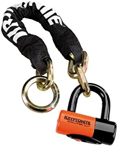 Kryptonite New York Noose 1275 Chain Bicycle Lock with Evolution Series 4 Disc Lock... by Kryptonite