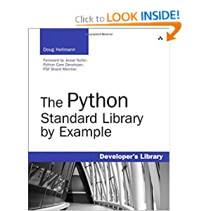 The Python Standard Library Example (Developer's Library)