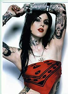 """KAT VON D Tattoos Poster Approximate size 11.7"""" x 16.5""""- 297mm x 420mm"""