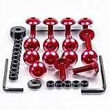 Aluminium Fairing Kit Suzuki TL1000S Red