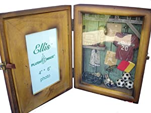 Soccer Shadow Box Picture Photo Frame , Great Gift for Home Decor, Wall Decor Art, Or, Tabletop Decor