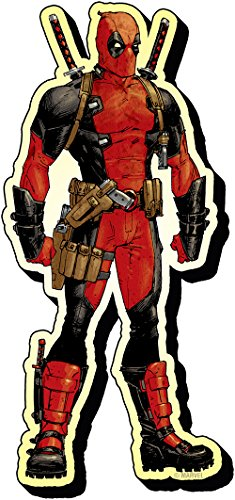 Aquarius Marvel Deadpool Funky Chunky Magnet