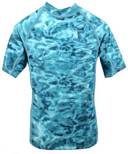 loose fit uv surf swim shirt rash guard