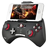 IDream Black iPega PG-9025 Wireless Bluetooth 3.0 Game Controller Gamepad Joystick for Apple iOS iPhone 4/4s iPhone 5/5s Android Phone Samsung Galaxy S4/S3 Note3/2 N7100 N8000 HTC one x Tablet PC