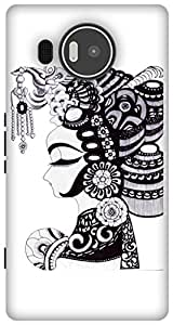 The Racoon Lean Lady hard plastic printed back case / cover for Microsoft Lumia 950 XL