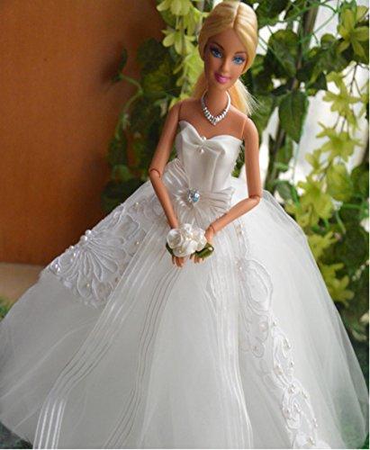 Doll gorgeous wedding dress feel Princess (b front Ribbon).