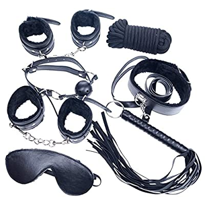 Mybeanstore Black Bondage Set Kit