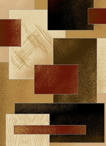 Black friday contemporary area rug uwchg 8 39 x11 39 berber for Cheap contemporary area rugs