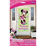 "Minnie Mouse Happy Birthday Door Poster, 60"" x 27"""