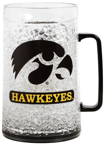 Ncaa Iowa 36-Ounce Crystal Freezer Monster Mug