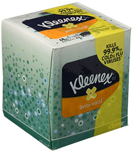 Kimberly-Clark Professional 21286 Kleenex Anti-Viral Facial Tissue Cube, Pack of 3 (Tissue Box Upright compare prices)
