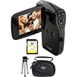 Coby CAM4002KIT Cam4002 Camcorder With Case 8gb Sd Card And Mini Tripod