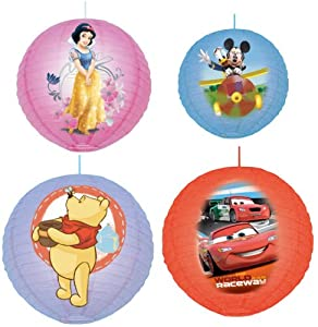 Cartoon Character Childrens Bedroom Ceiling Paper Lantern Light Lamp Shade Kids from Roukenglen