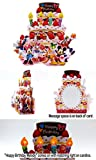 Disney Birthday Cake Lights & Melody Pop Up Greeting Card