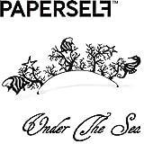 新感覚ペーパーアイラッシュ☆PAPERSELF[ペーパーセルフ] Under the sea【アンダー ザ シー】 1ペア (ブラック)