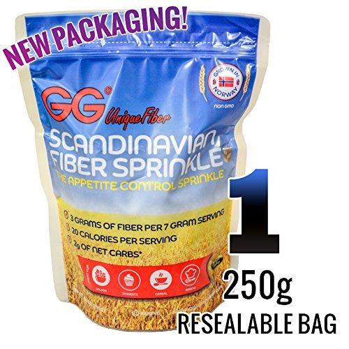 GG Bran Unique Fiber Sprinkles (1) 250g resealable bag (Gg compare prices)