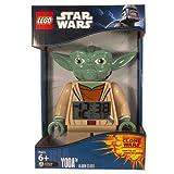 Alarm - LEGO Kids' 9003080 Star Wars Yoda Minifigure Clock