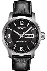Men's Watch - Tissot - Powermatic 80 - Automatic - Leather Band - T055.430.16.057.00