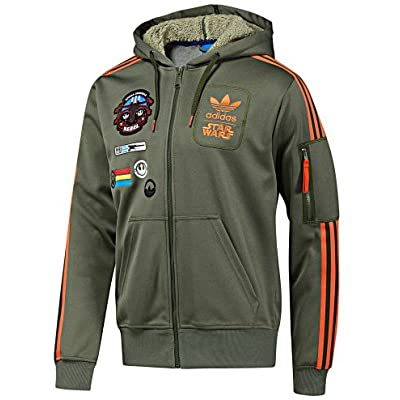 Amazon.com : adidas Star Wars Hooded Flock Track Top Hoodie : Boxing