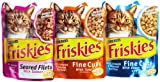 Friskies Gravy Sensation Sea food corporation, 3-Flavor Variety Pack, 3-Ounce Pouches (Pack of 24)