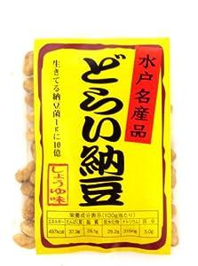 谷貝食品工業 どらい納豆 しょうゆ味 25g×10袋