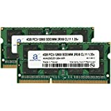 Adamanta 8GB 2x4GB Laptop Memory Upgrade For HP Envy 15-k Series All DDR3L 1600Mhz PC3-12800 SODIMM 2Rx8 CL11...
