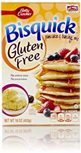 Bisquick Pancake and Baking Mix, Gluten Free, 16 Oz