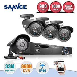 Sannce 8CH Full 960H CCTV DVR Recorder