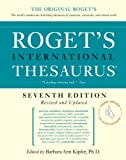 Roget's International Thesaurus, 7e, Thumb indexed (Roget's International Thesaurus Indexed Edition)