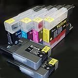 【むさしのメディアオリジナル】 ブラザー互換 LC12-4PK+BK2 4色+黒2個インクカートリッジ [フラストレーションフリーパッケージ(FFP)]